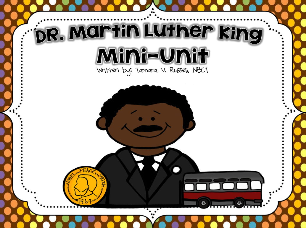http://www.teacherspayteachers.com/Product/Dr-Martin-Luther-King-Jr-Literacy-Unit-508880