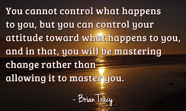 Control your attitude