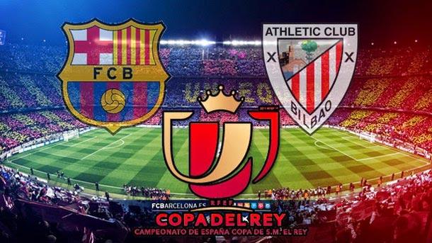 Alineación Barcelona-Athletic Bilbao. Cuartos Copa del Rey (vuelta ...