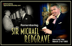 TODAY : SIR MICHAEL REDGRAVE REMEMBERED