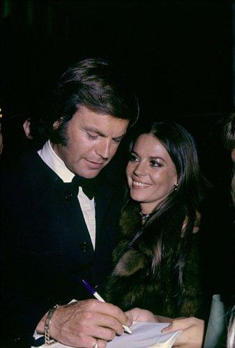 Reencuentro con Robert Wagner en 1972