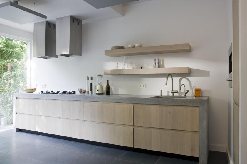 Steigerhouten Keuken Met Betonnen Blad : Menthetetlen vagyok, im?dom a nagyon modern konyh?kat l?jtos