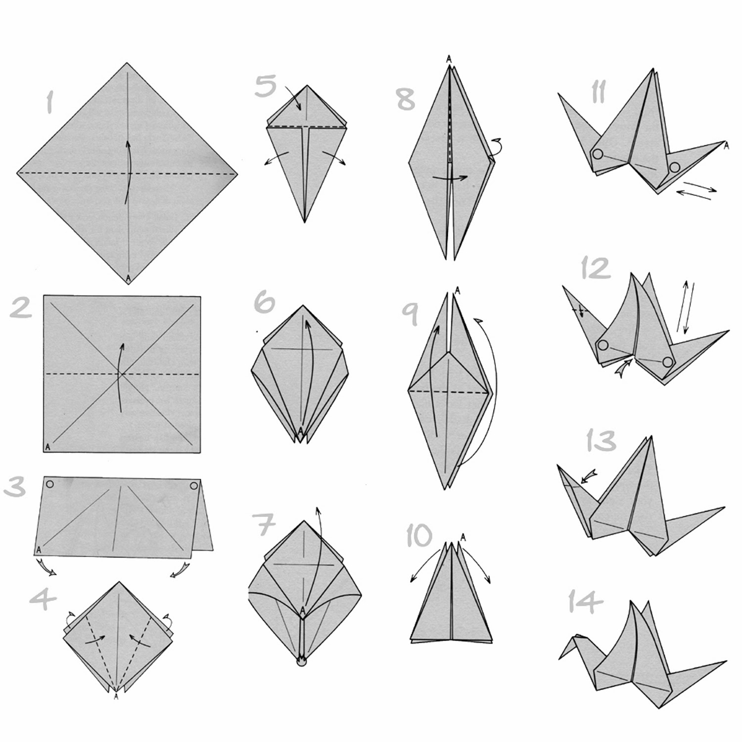 Paper Crafts Origami For Kids Turkey Origami Instructions
