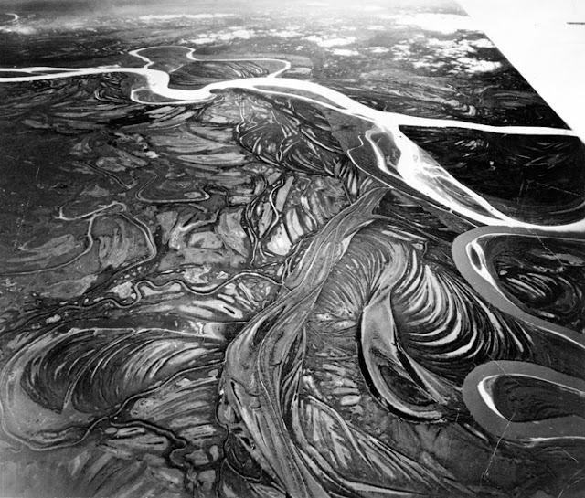 Anabranches at the junction of the Yukon River & Koyukuk River,Alaska