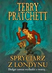 Okładka Spryciarz z Londynu - Terry Pratchett