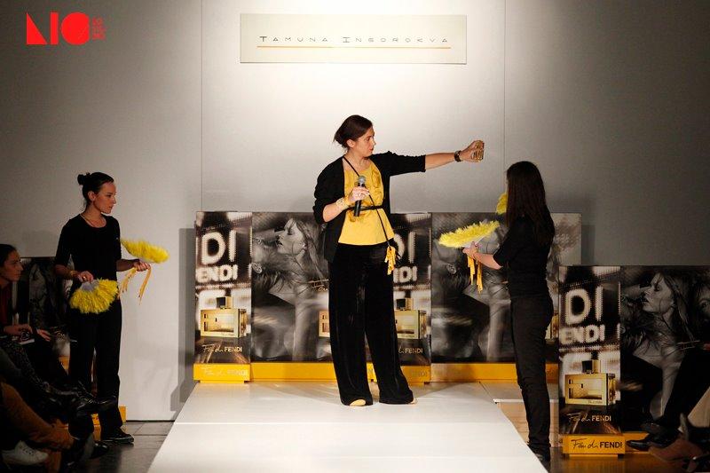 Tbilisi Fashion week Day 1 presentation Fendi 39s perfume Fan di Fendi