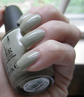 OPI Pirates of The Caribbean Stranger Tides Swatch