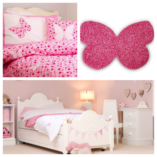 Children 39 s bedroom ideas the diary of a jewellery lover for Baby girl butterfly bedroom ideas