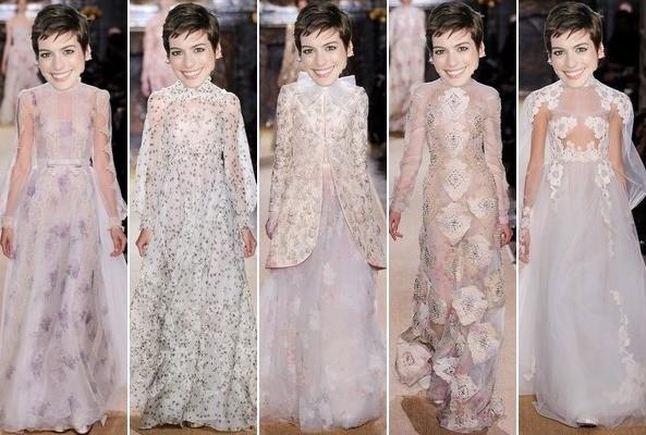 Wedding Diary Anne Hathaways Wedding Dresses