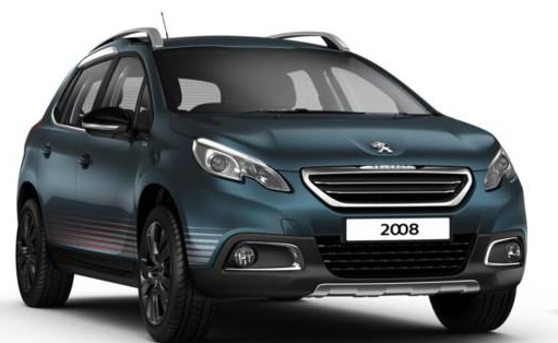 Peugeot 2008 2016 couleurs colors
