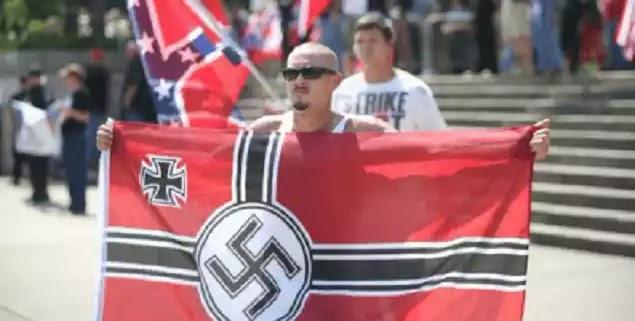 Εμφύλιος στις ΗΠΑ– άνεμος αντίστασης στην μασονική εισβολή!περιπολίες από δεξιούς και εθνικοσοσιαλιστές στη Βιρτζίνια, μονο η βία των αριστερών(εισβολέων)ειναι καλοδεχούμενη!-Βίντεο