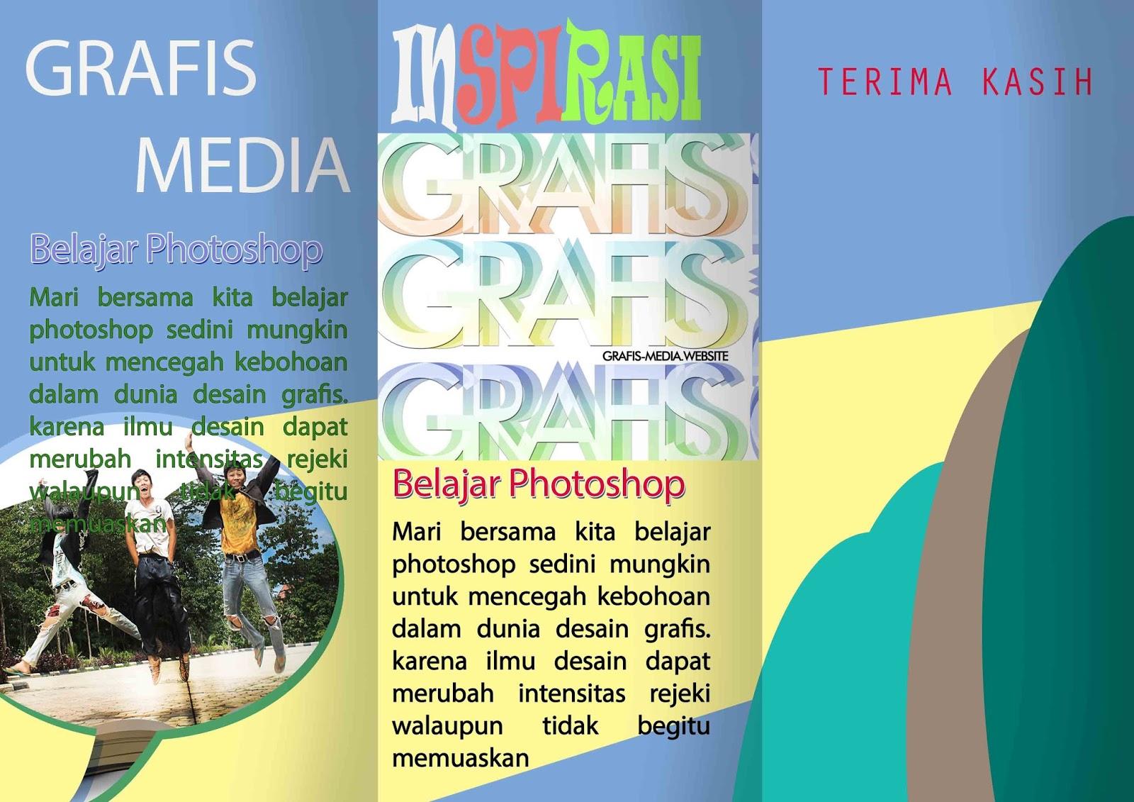 CARA MEMBUAT BROSUR LIPAT 3 DI PHOTOSHOP - GRAFIS - MEDIA