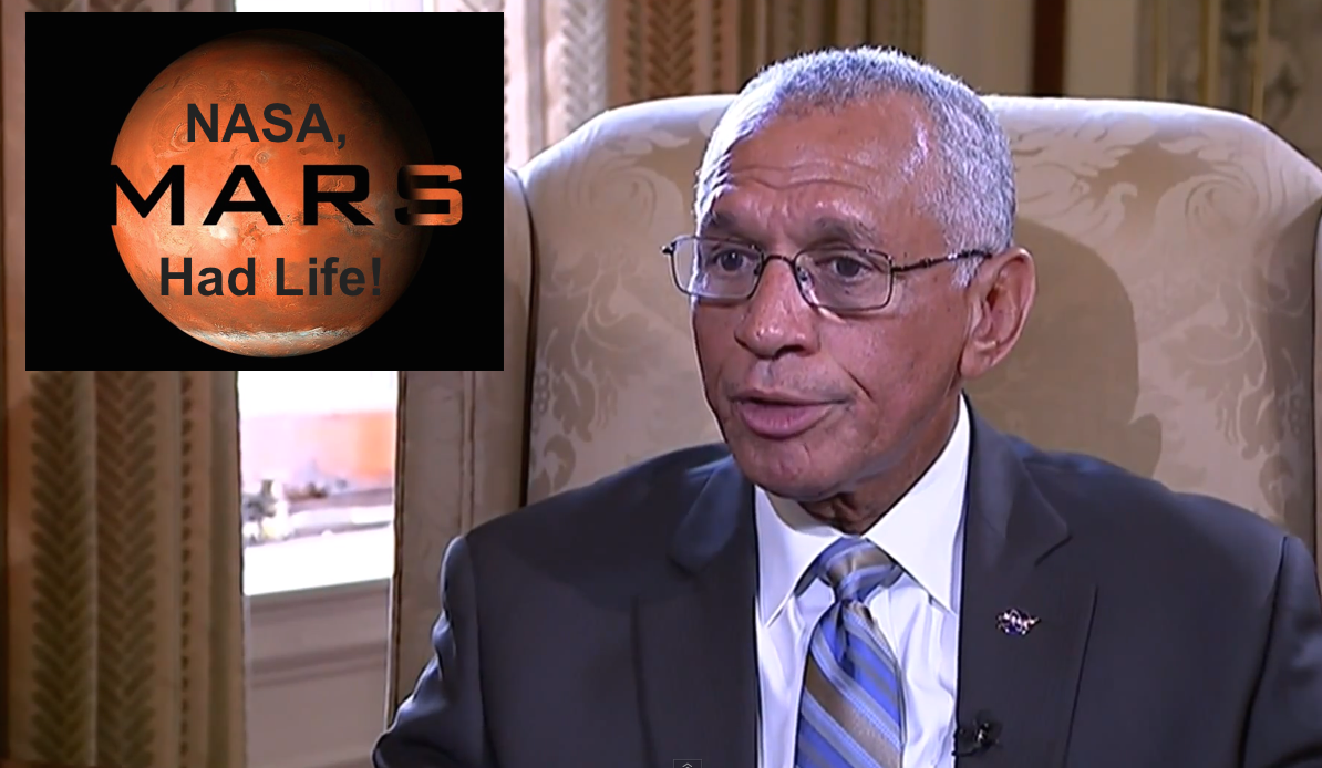NASA Chief says there is Life on Mars