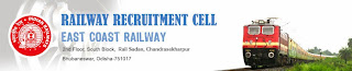 East Coast Railway Recruitment 2013 - 2014