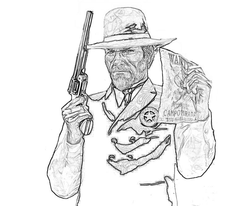 printable-red-dead-redemption-character_coloring-pages