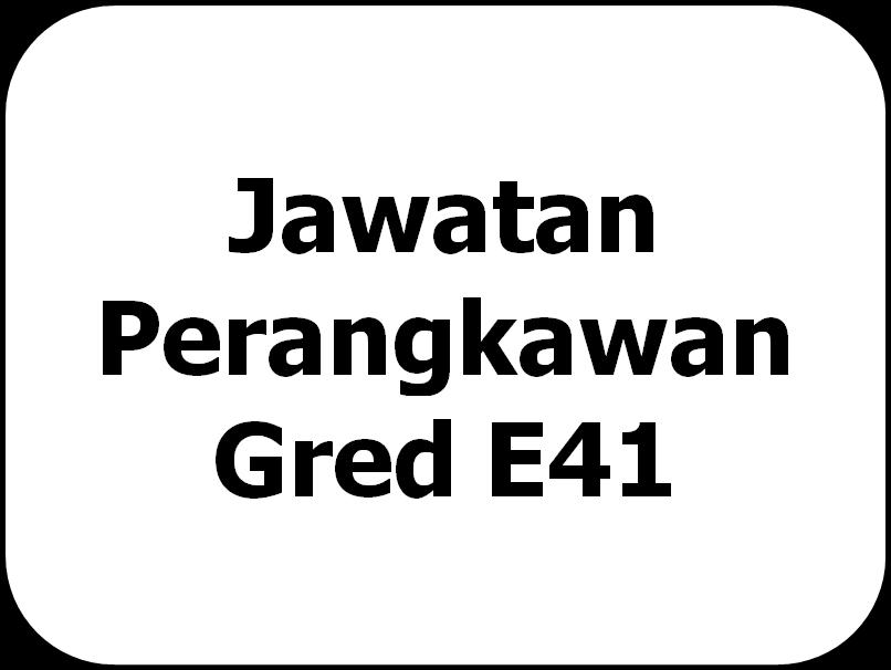Jawatan Perangkawan Gred E41