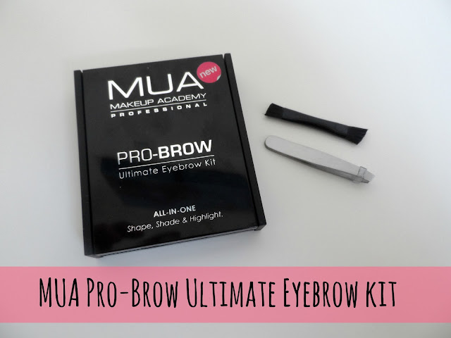 MUA Pro-Brow Ultimate Eyebrow Kit