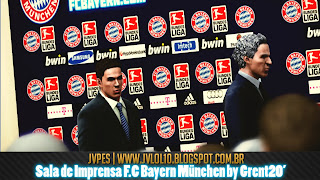 Press Conference Bayern München by grent20