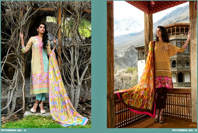 Wardha Saleem SPRING/SUMMER 2014 Lawn Collection, Lawn Collection, Designer Lawn, Lawn in Pakistan, Latest Lawn designs, Shop Online for lawn, Fashion blog, redalicerao, red alice rao, Wardha Saleem