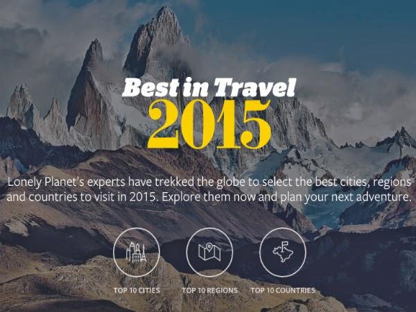 Los mejores destinos para viajar en 2015 según Lonely Planet