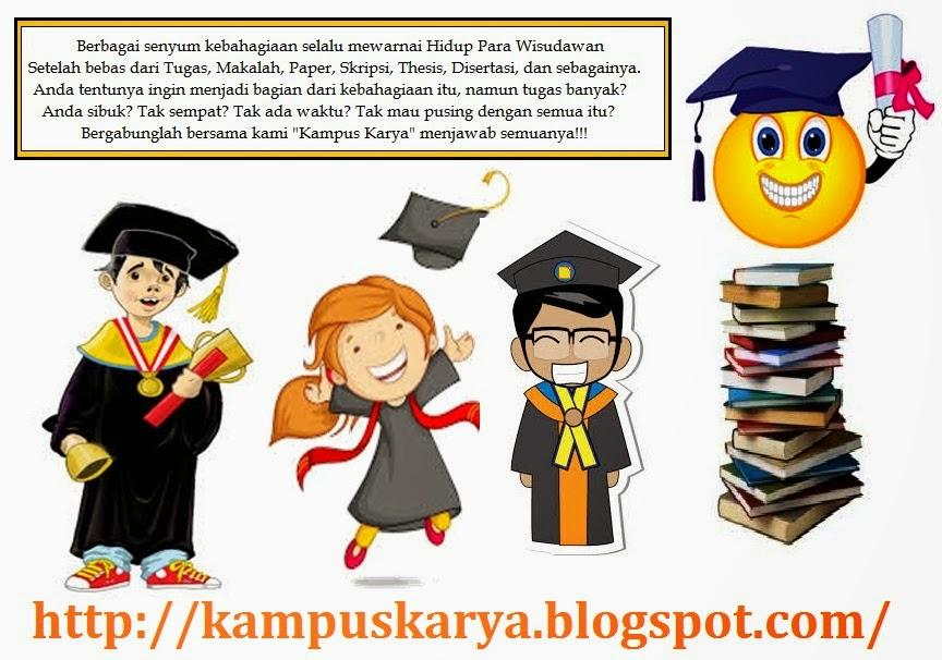 Jasa Pembuatan Skripsi - Tesis - Disertasi Full Service