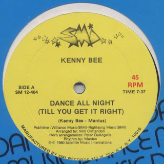 Kenny Bee - Dance All Night (Till You Get It Right)