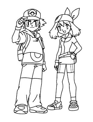 Desenhos do Pokemon para Pintar