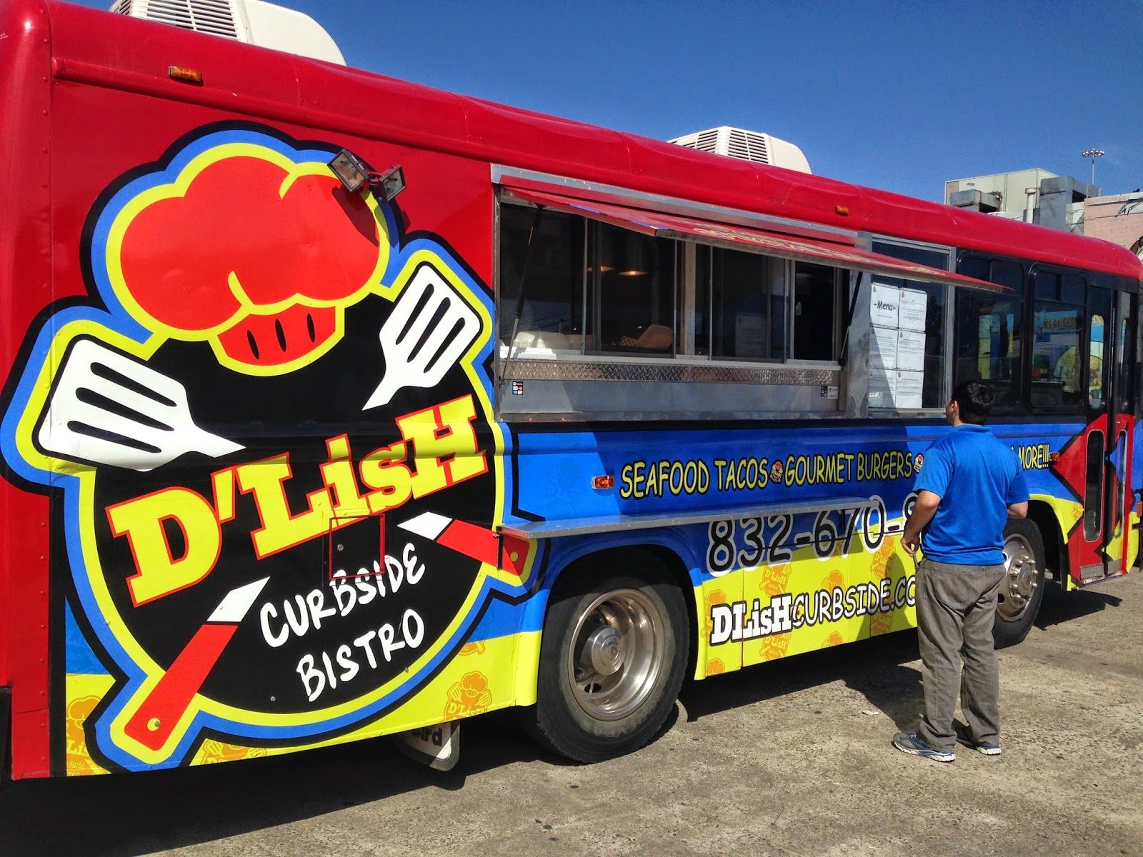 D'Lish Curbside Bistro Food Truck, Houston TX