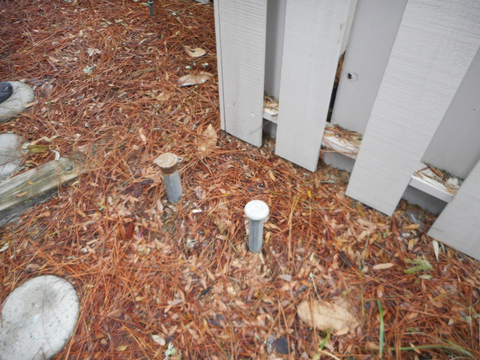 Home Inspection, buried fuel oil tank, Hilton Head, SC