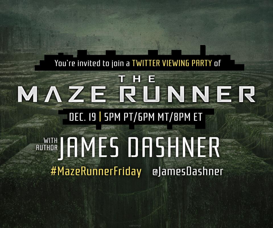 Maze Runner Twitter Chat