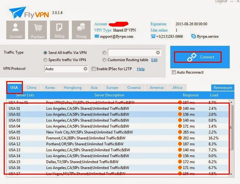 USA VPN Client