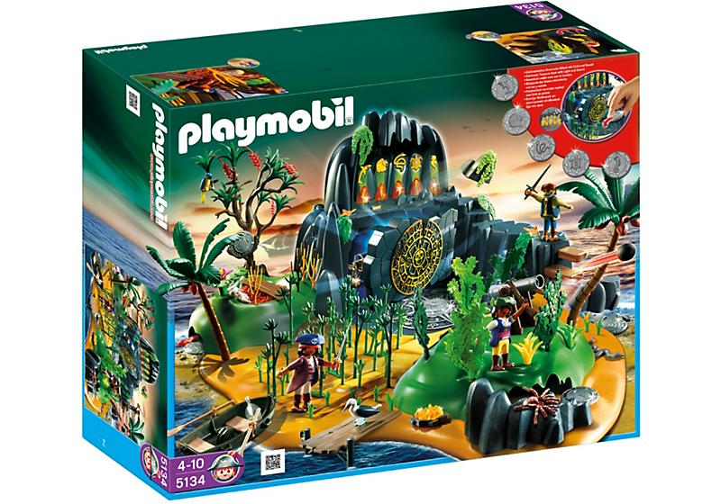 Dioramas playmobil playmobil ref 5134 boite ile - Playmobil pirate fantome ...