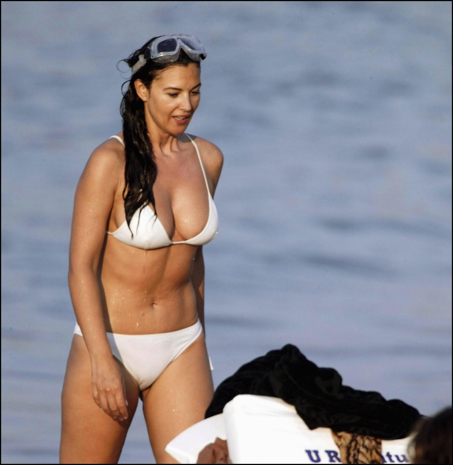 Shaking, support. monica white bikini know