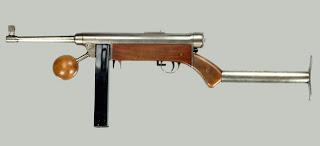 Lettet-Forsøgs submachine gun