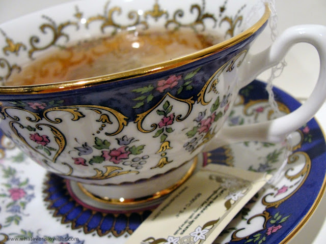 It's Tea Time at Whatever is Lovelier!