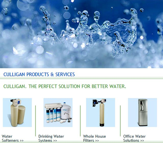 Culligan drinking water system