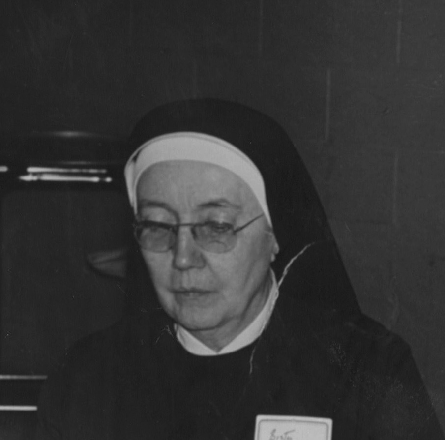 AASH PAST PRESIDENT MER: Mother Anne Madden, RSCJ