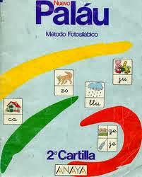 CARTILLAS PALAU 1, 2 Y 3