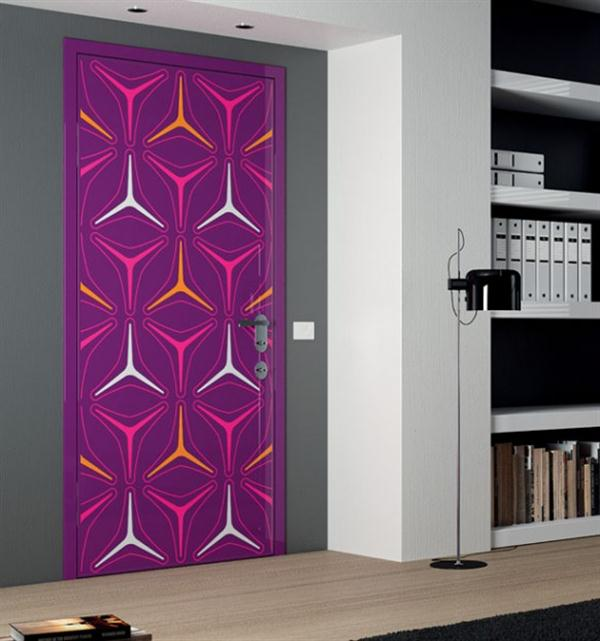 Luxury interior designs for Painted interior door designs