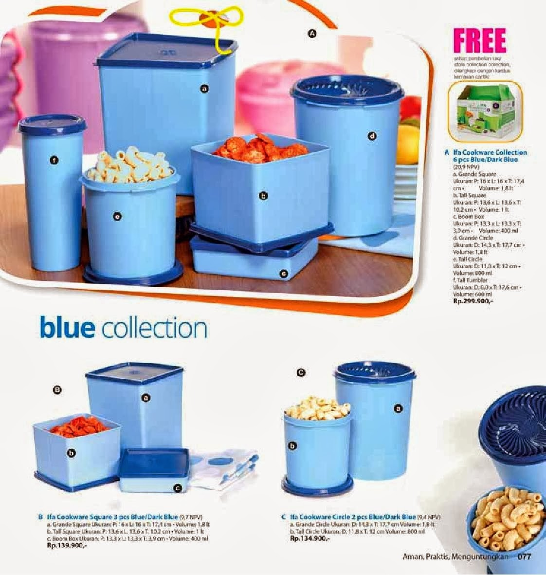 Paket Ifa Cookware yang menarik. Dengan pilihan warna cantik memikat e0a38f12e4