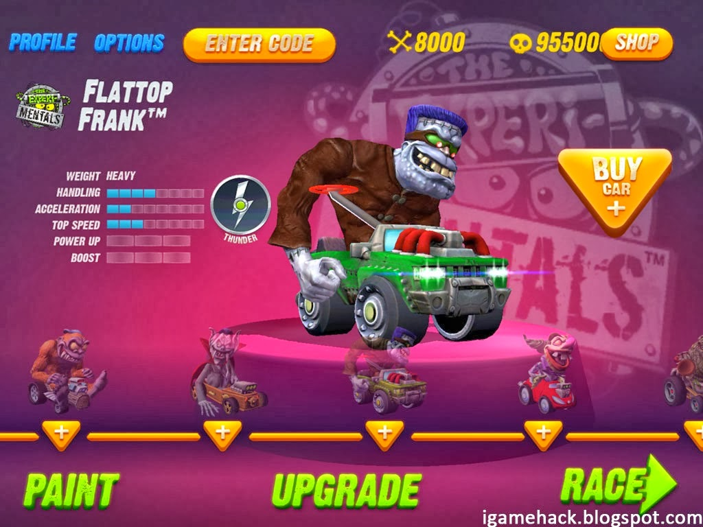 Monster 500 Game Hack