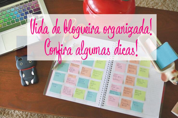 como organizar um blog