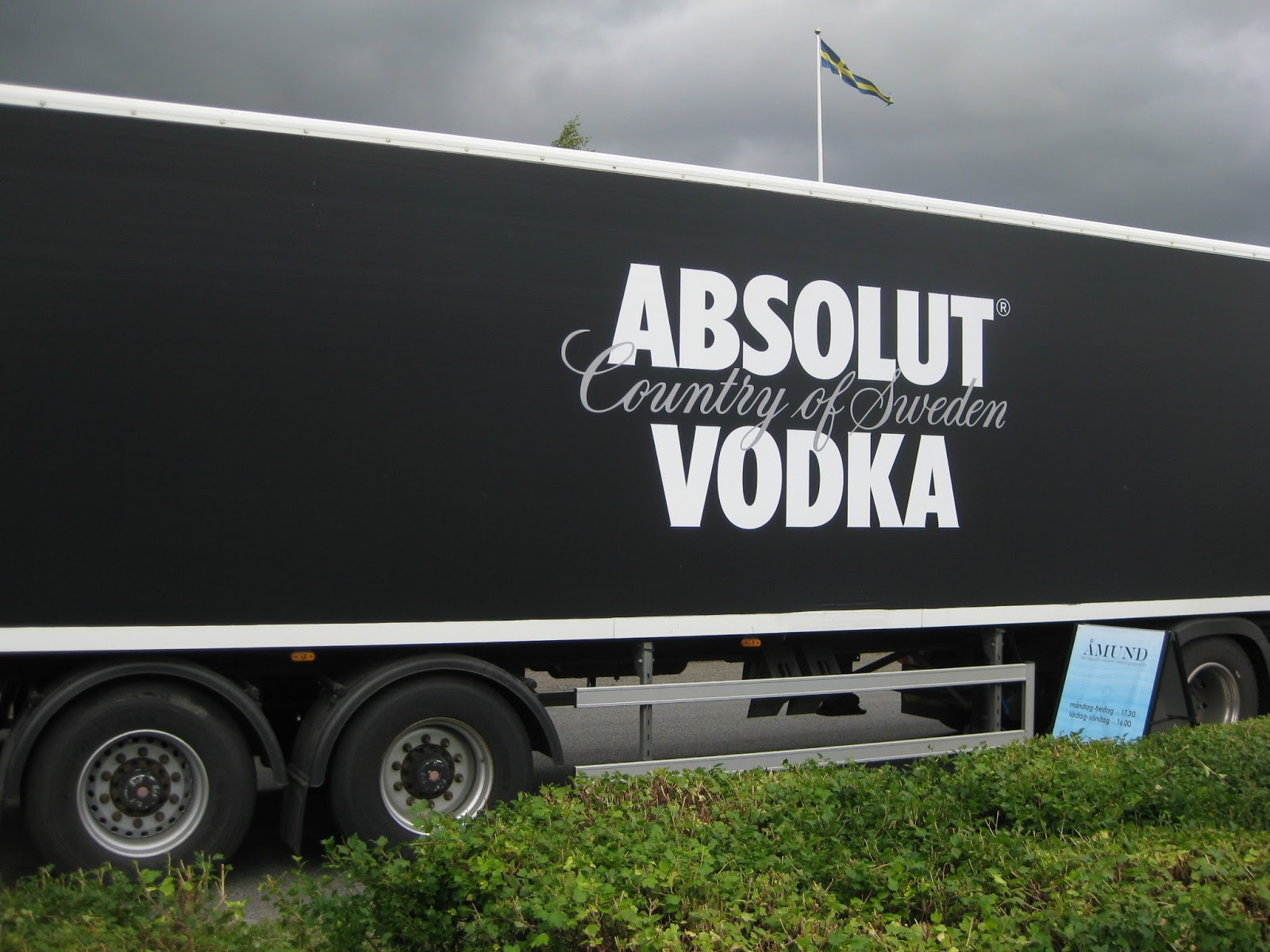 image of Absolute Vodka Truck