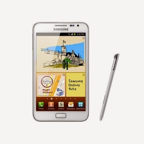 Samsung Galaxy Note 1 Blanc Smartphone 5.3 Pouces