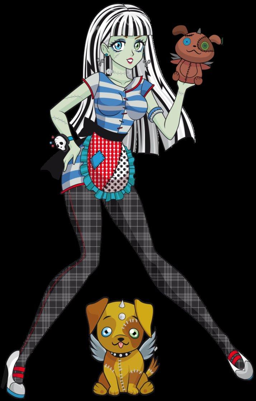 monsterhighdaily  monster high anime version