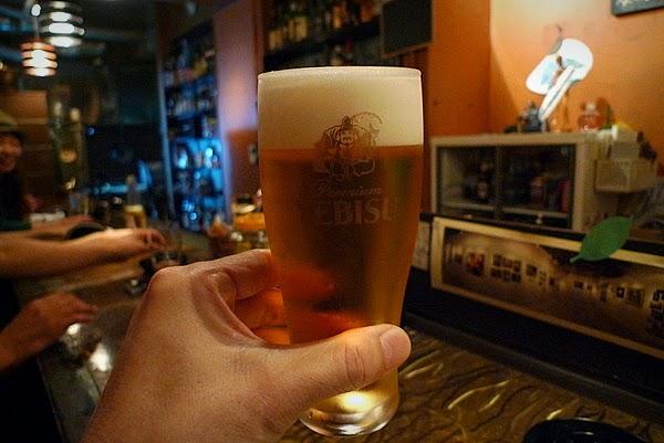京都四条大宮スピナーズ 生ビール