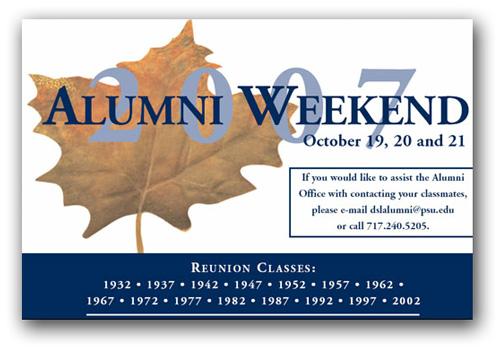 Best Postcard Design: 10 Ideas for Alumni Invitations