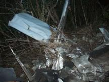 Avioneta encontrada en Enriquillo tendría unos 10 meses que se precipitó a tierra
