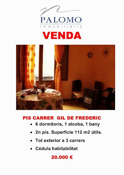 PIS AL CARRER GIL DE FREDERIC