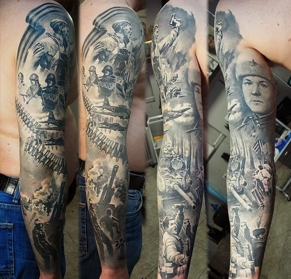 Legendary Tattoos For History Buffs - Abraham Lincoln